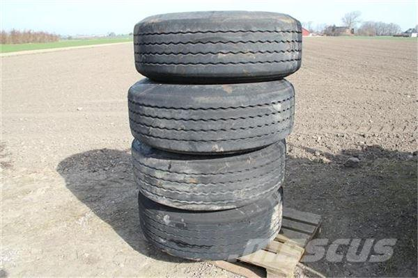 [Other] 4 Trailer hjul 385/65 R 22.5