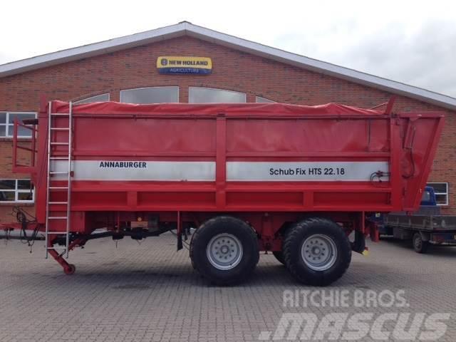 Annaburger HST22.18 Græsvogn / kornvogn med afskubber og sneg