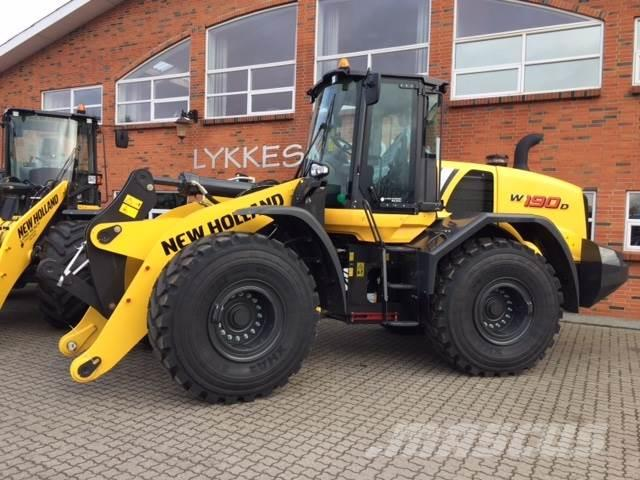 New Holland W190 W190D