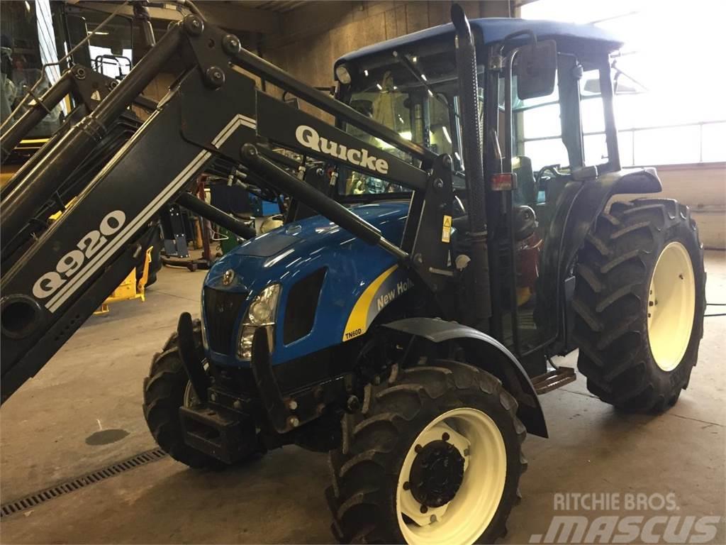 New Holland tn60da tractor Manual