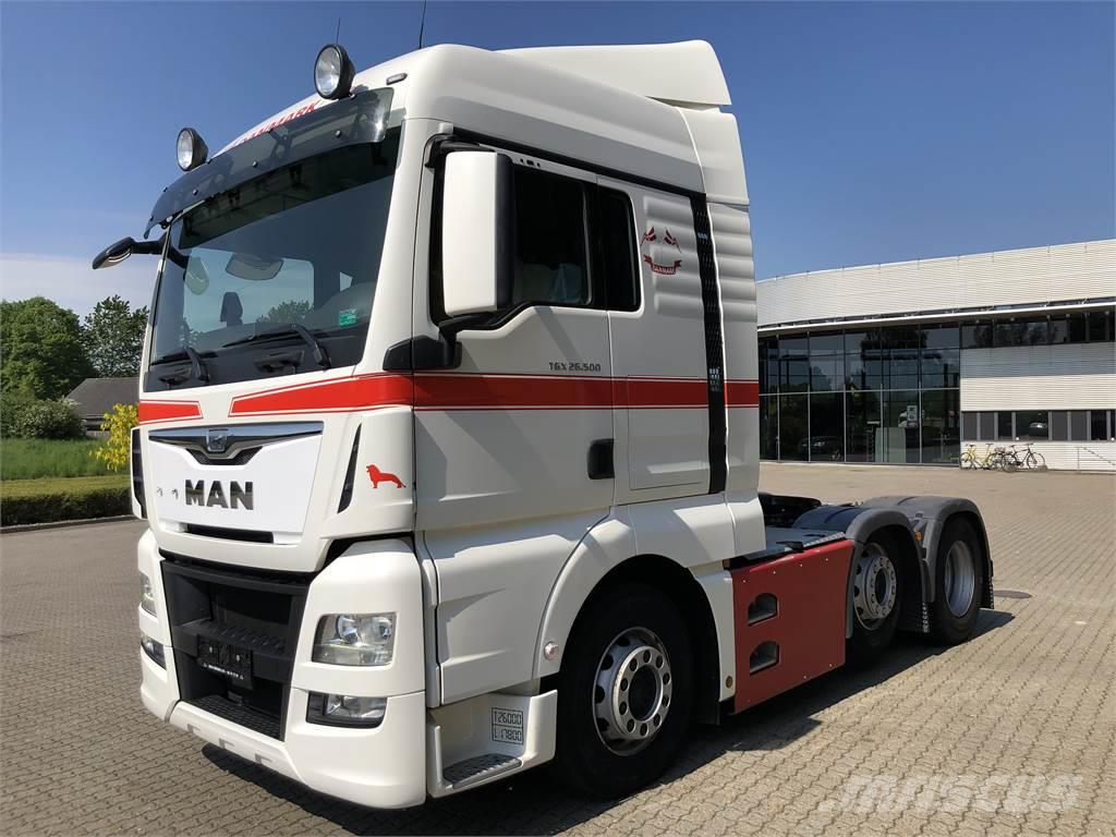 MAN TGX 26.500 6x2-2 Hydraulik