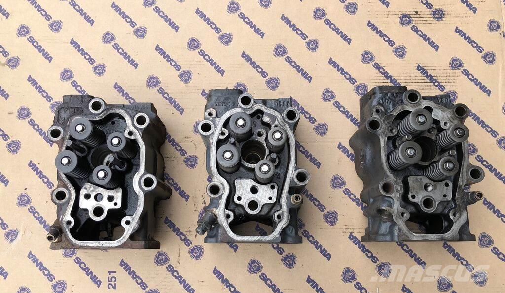 Scania spare part - engine parts - cylinder head_engines