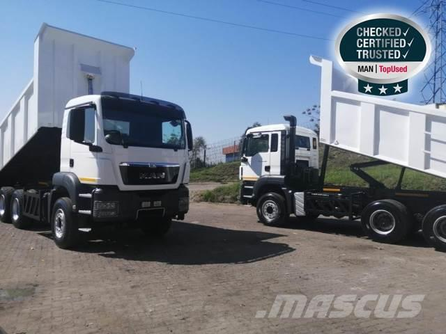 MAN TGS 33-480 BB-M WB4500 + 14CUBE TIPPER BODY