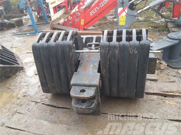 Case IH Svoriai traktoriams, 270 kg.