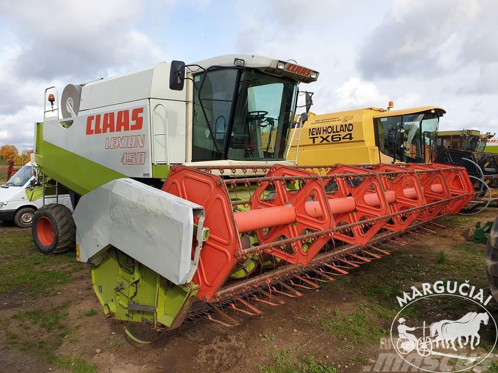 CLAAS Lexion 450, 6,6 m.