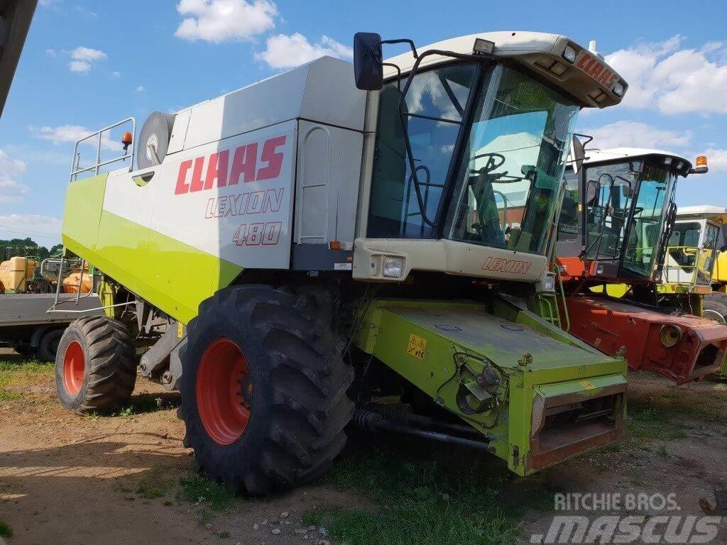 CLAAS Lexion 480, 9 m.