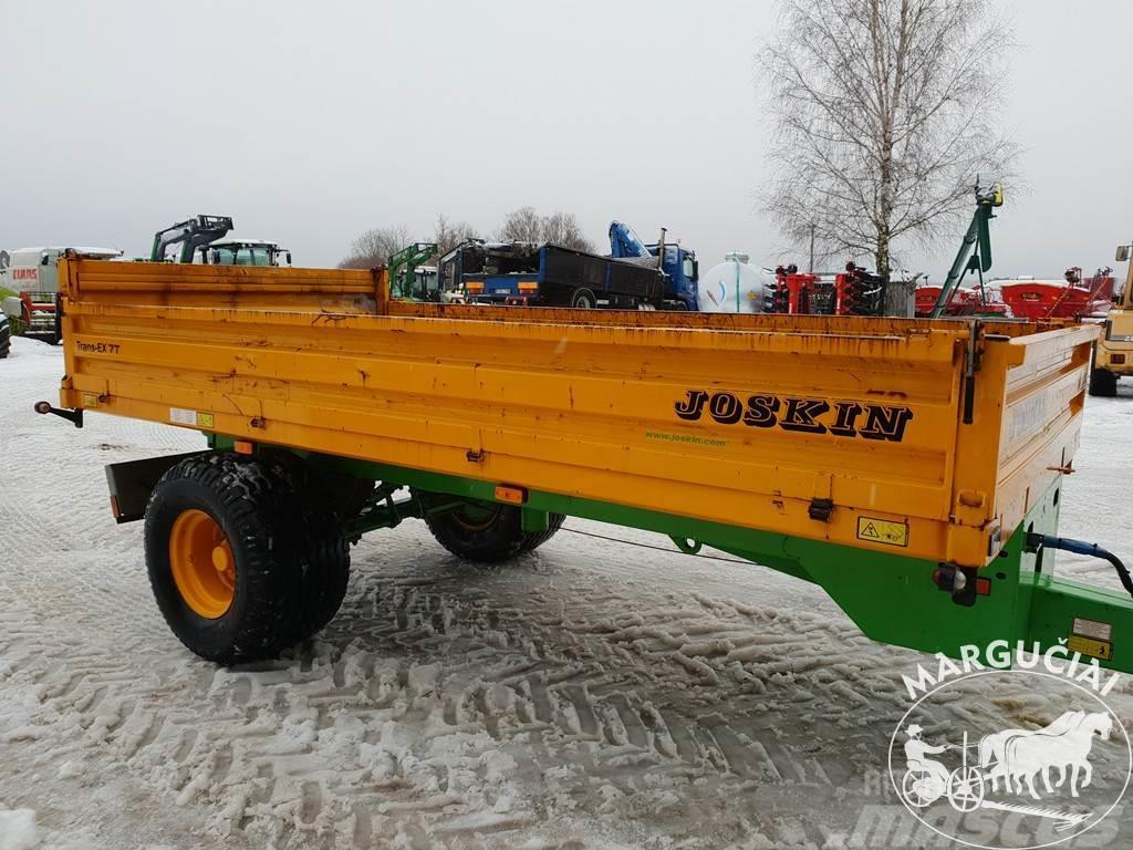 Joskin Trans-EX 7T, 7500 kg.