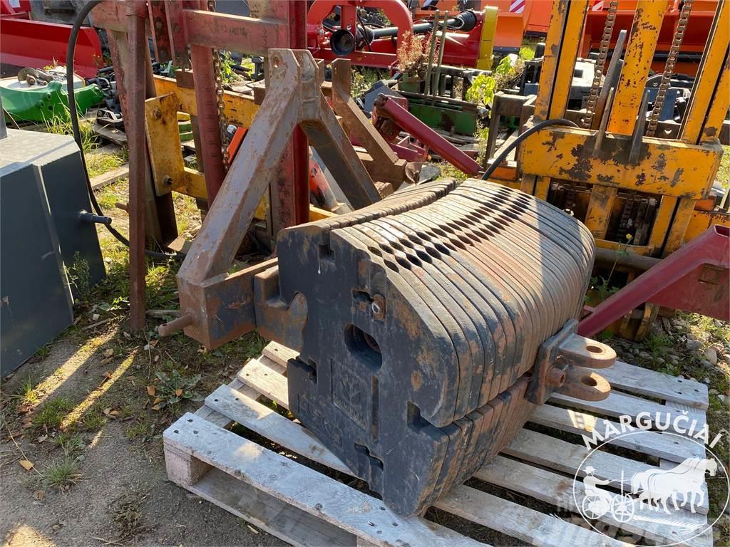 New Holland Svoriai traktoriui, 1150 kg.