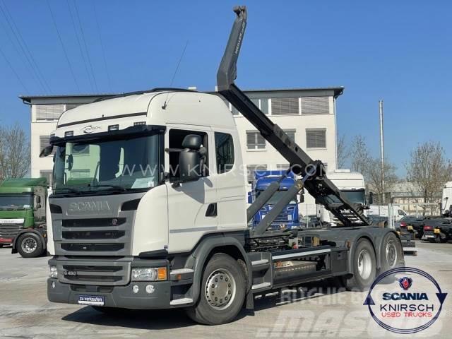 Scania G450LB6X2*4MNA / Meiller Abrollkipper RS 21.70
