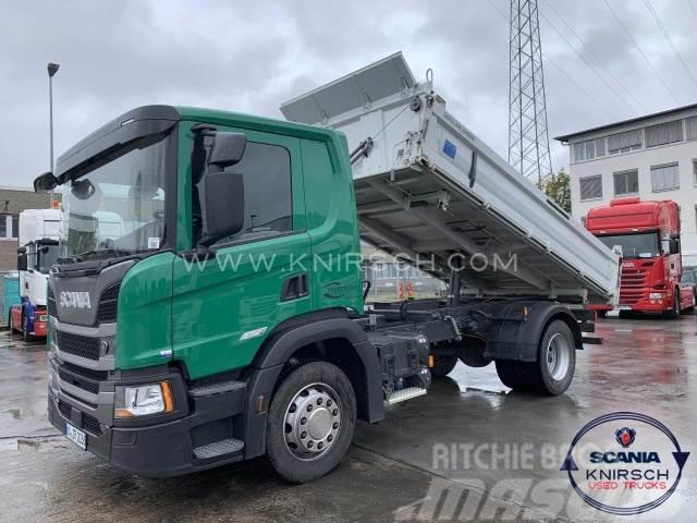 Scania P280B4X2NZ / MEILLER Dreiseitenkipper / TYP 9