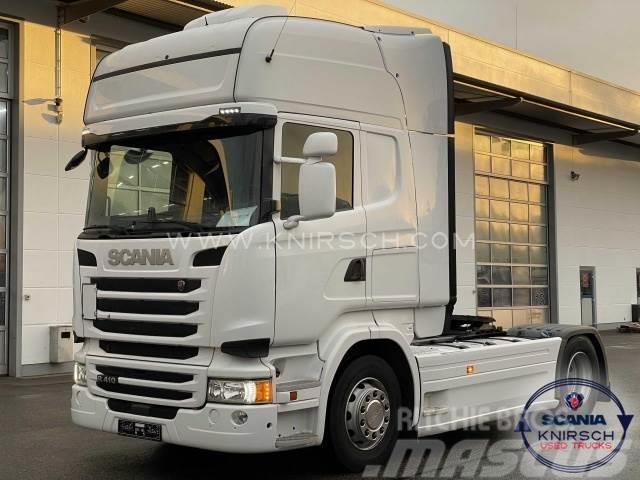 Scania R410LA4X2MNA / Topline / Standklima / 2xTank / NO