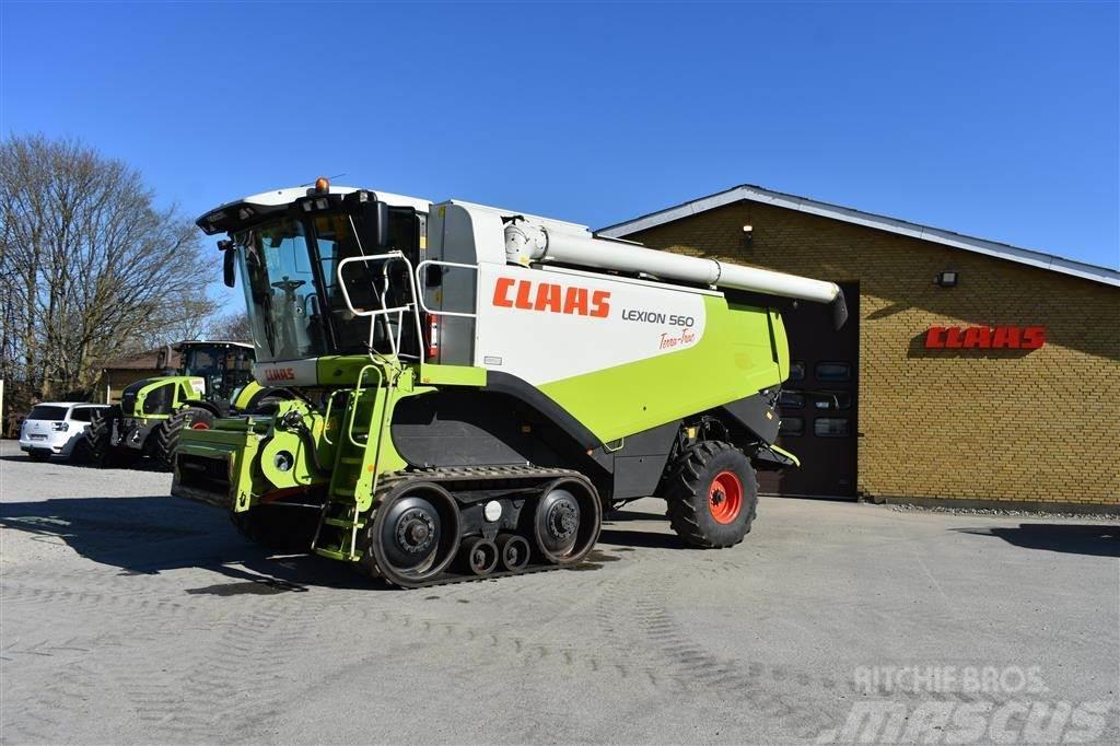 CLAAS LEXION 560 TERRA TRAC