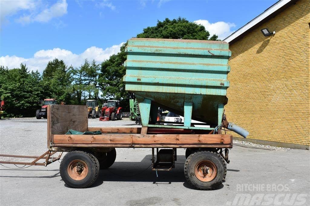 Herborg Kornkasse på vogn
