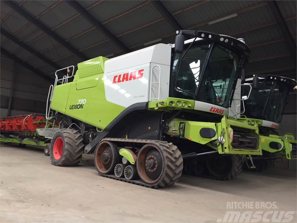 CLAAS LEXION 770 TT 4-WD