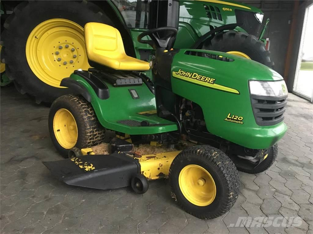 used john deere l120 compact tractors year 2000 price 2 374 for sale mascus usa. Black Bedroom Furniture Sets. Home Design Ideas