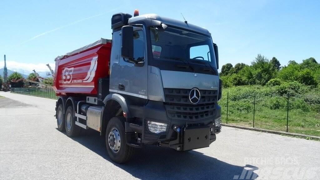 Mercedes benz arocs 3351 6x6 a o de fabricaci n 2017 for Mercedes benz 6x6 precio