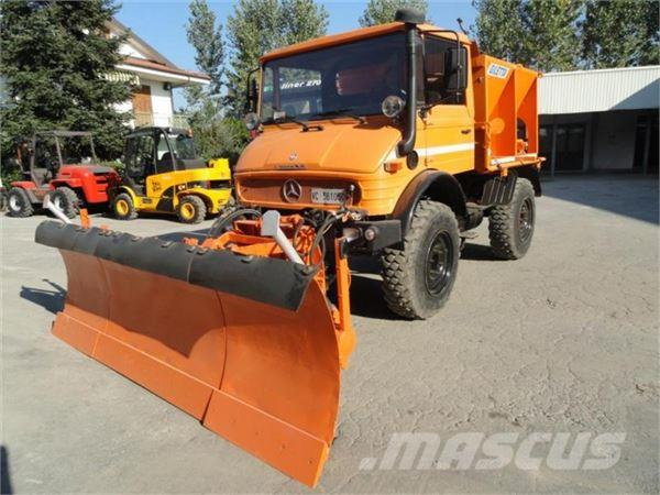 Used mercedes benz unimog u900 tractors year 1989 for for Mercedes benz unimog for sale usa