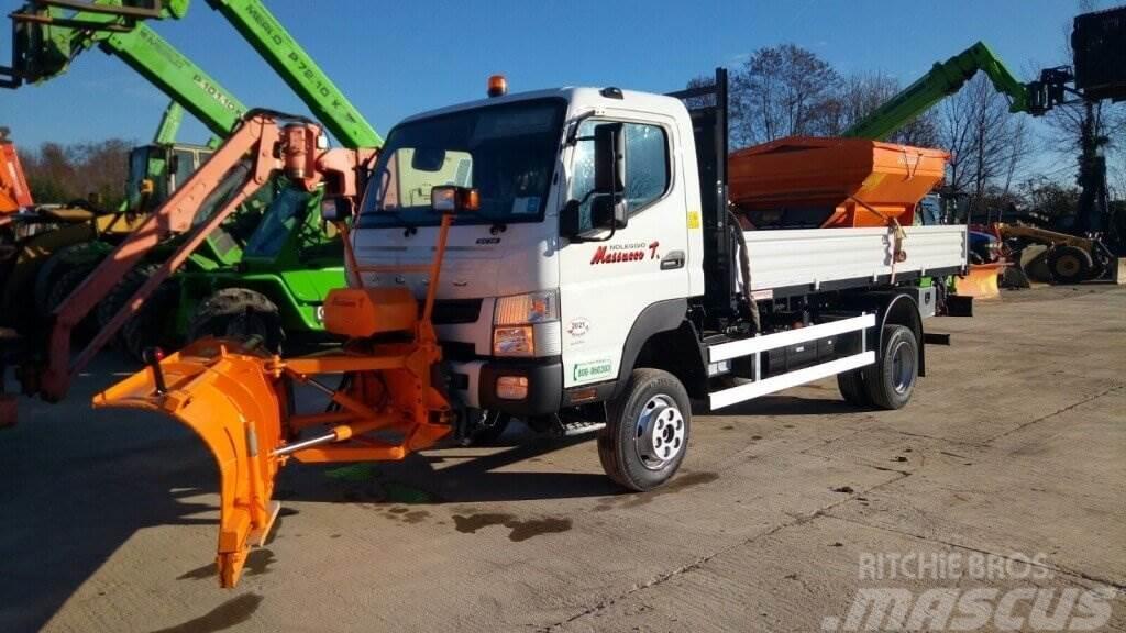Used Mitsubishi FUSO - 6C18 - 4x4 tractors Year: 2016 for sale