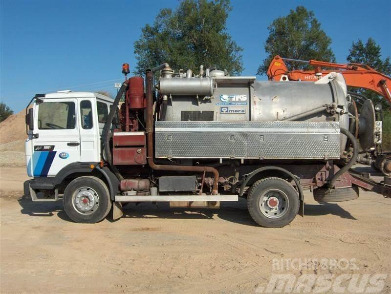 renault vi 40acj3 occasion camion aspirateur hydrocureur renault vi 40acj3 vendre mascus. Black Bedroom Furniture Sets. Home Design Ideas