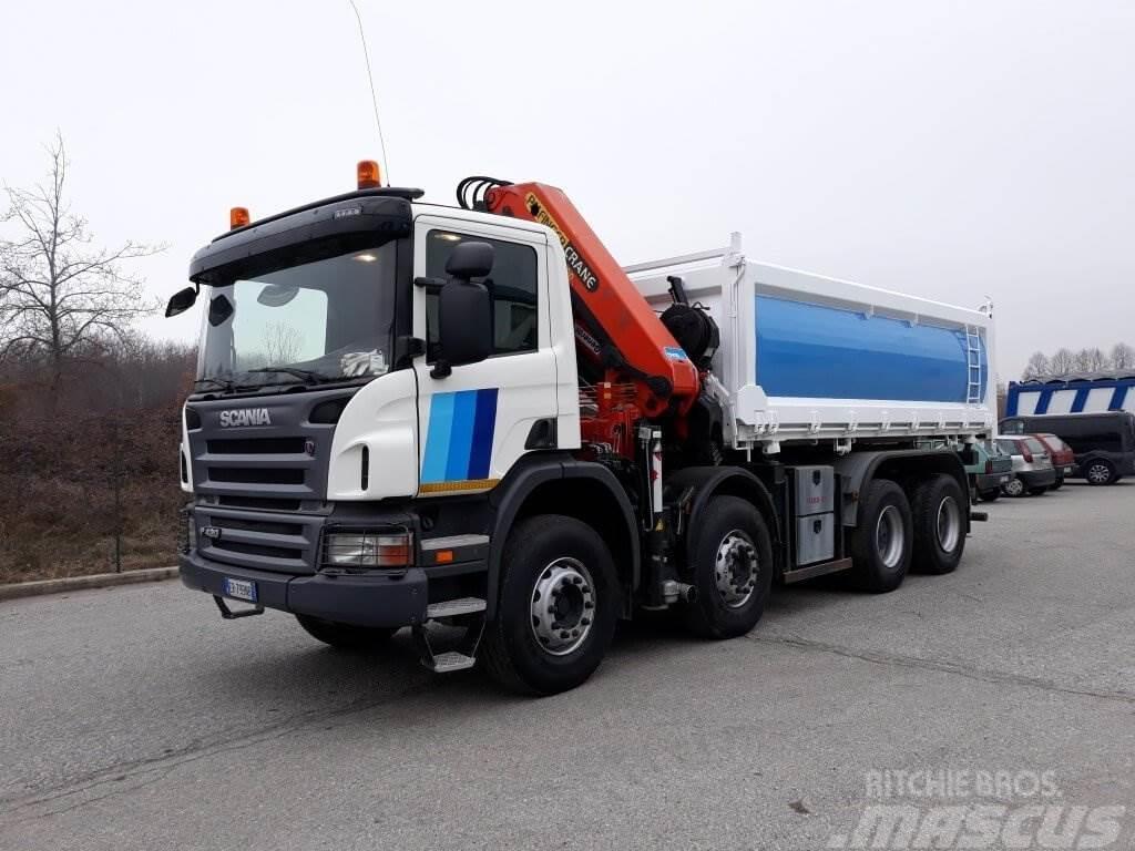 Scania P420 8X4