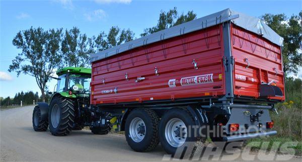 Metal-Fach landwirtschaftlicher Anhänger T730/2 – 10t