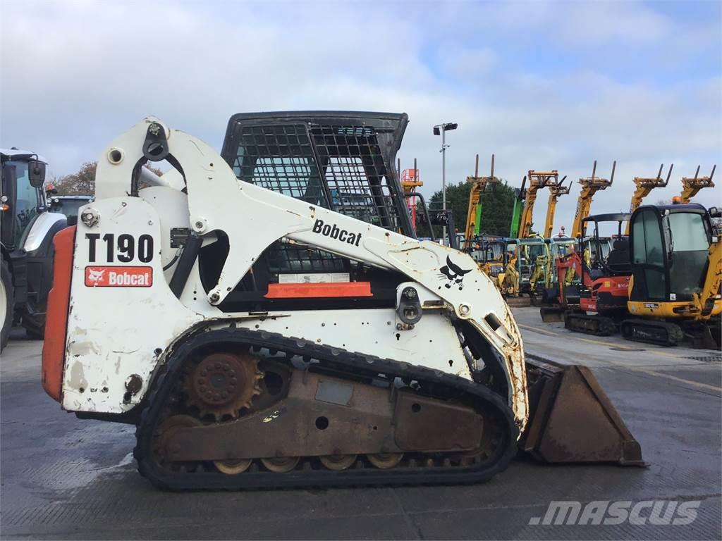 Bobcat T190 Tracked Skid Steer St3675 Other Agricultural Machines