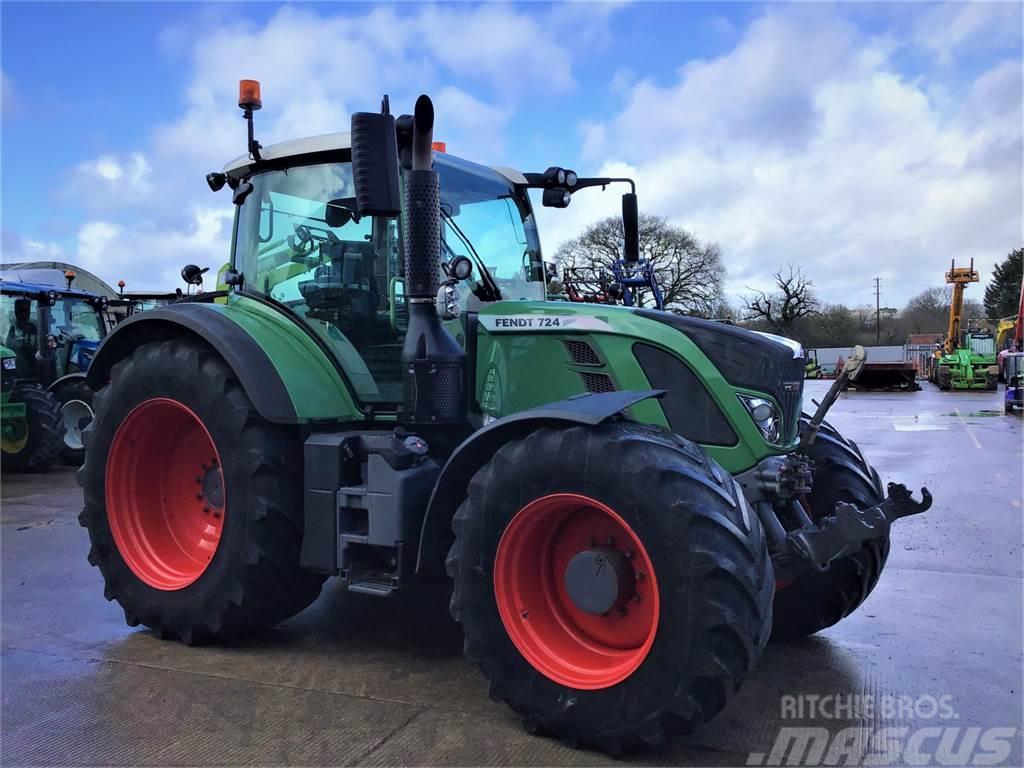 Fendt 724 Profi Plus Tractor (ST5381)