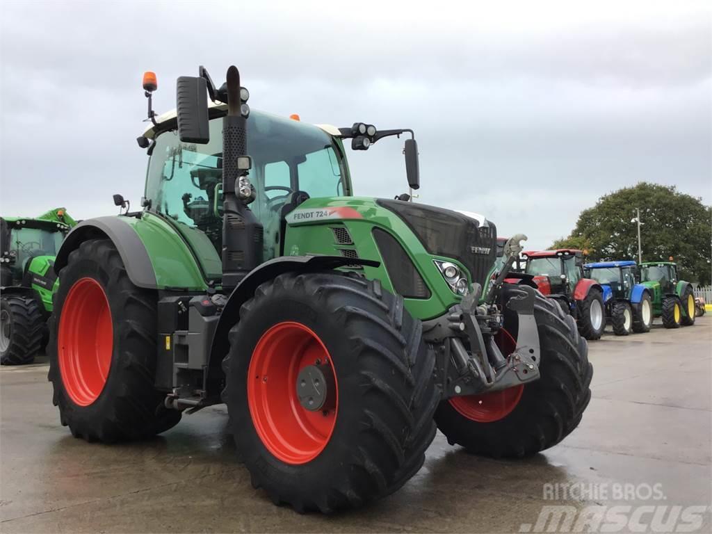 Fendt 724 S4 Profi Plus Tractor (ST5521)