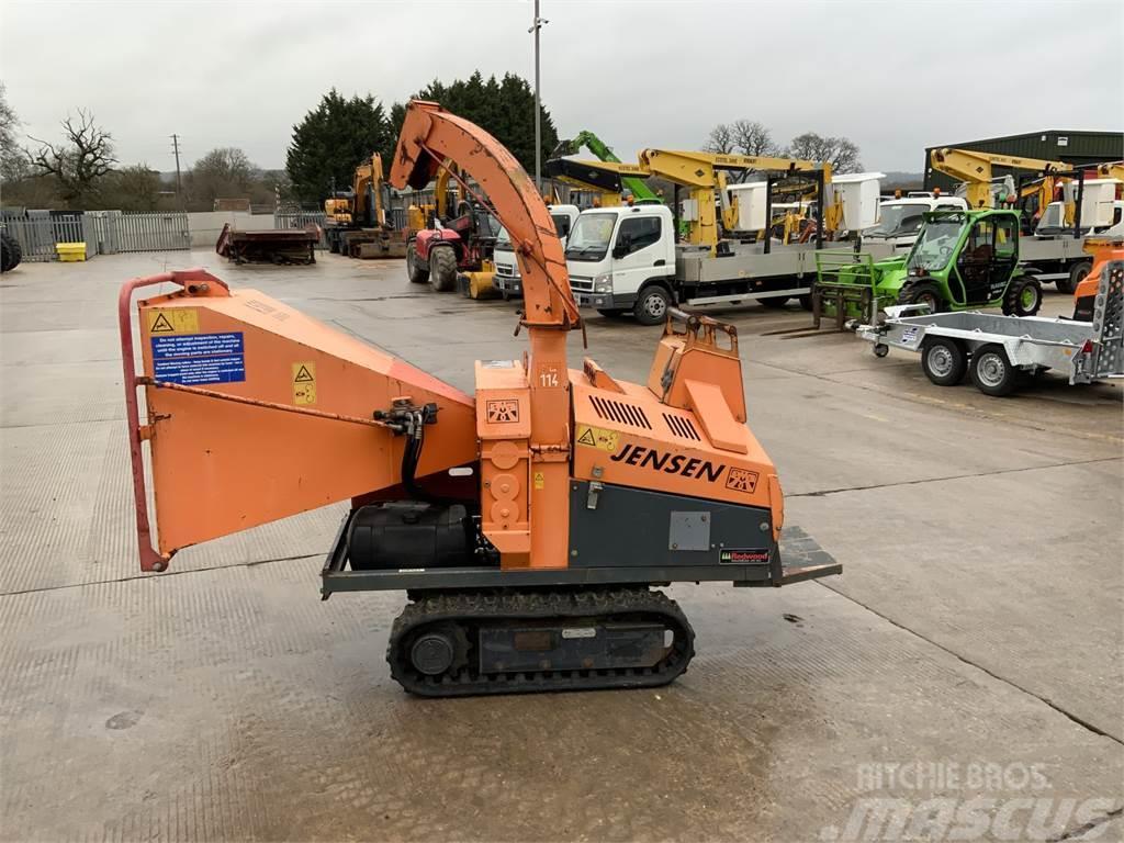 Jensen A530 Tracked Wood Chipper (ST8995)