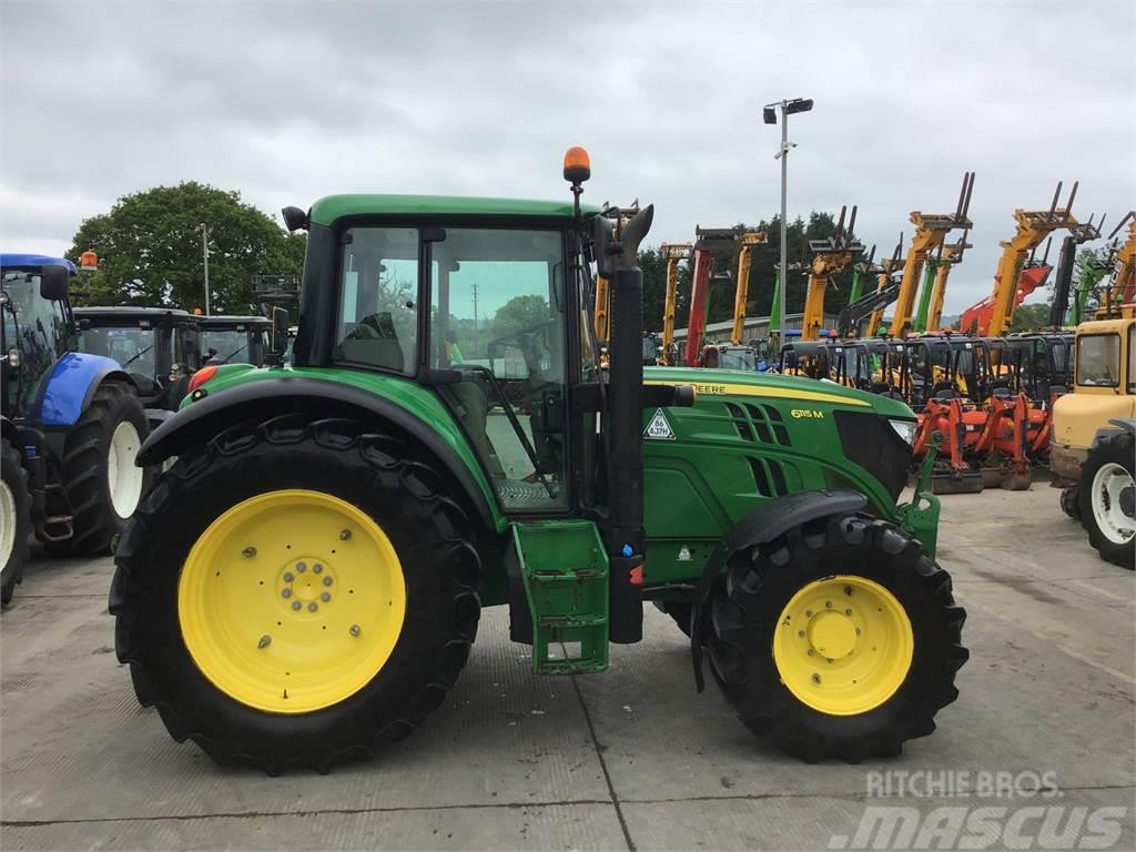 John Deere 6115M Tractor (ST4631)