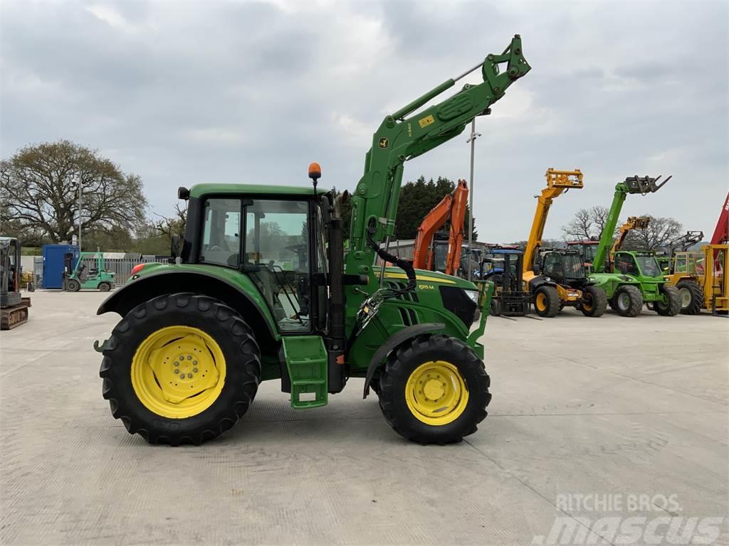 John Deere 6115M Tractor (ST9871)