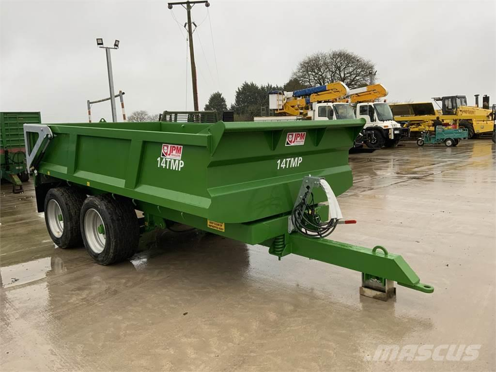 JPM Green 14 Tonne Multi Purpose Dump Trailer (ST9183)