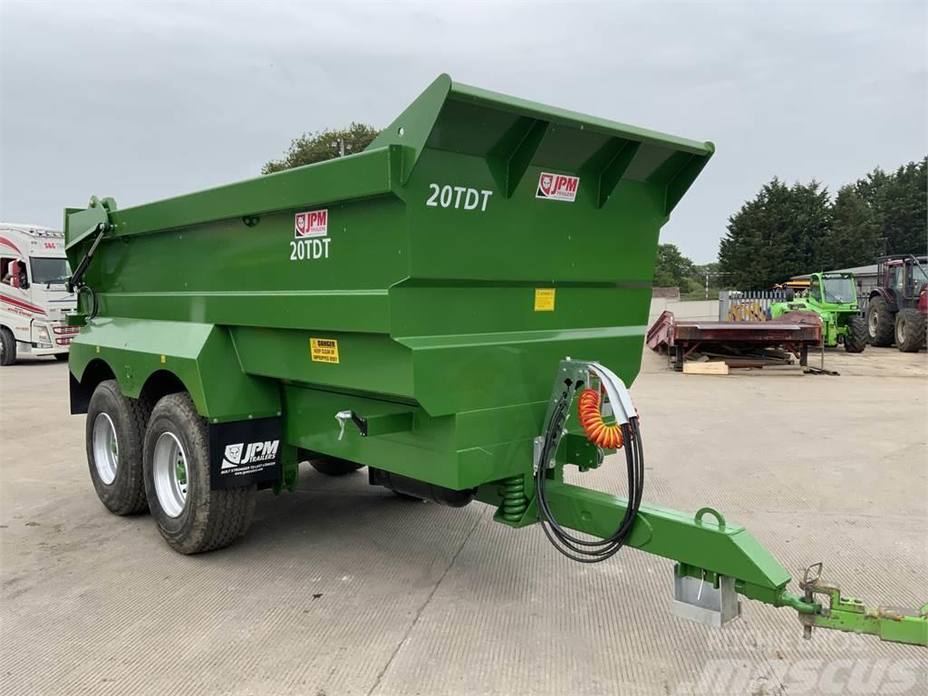 JPM Green 20 Tonne Dump Trailer (ST10584)