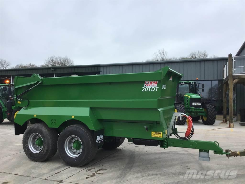 JPM Green 20 Tonne Dumper Trailer