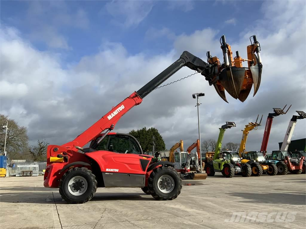 Manitou MHT 790 Telehandler Fitted With Optmal 1700 Tree S