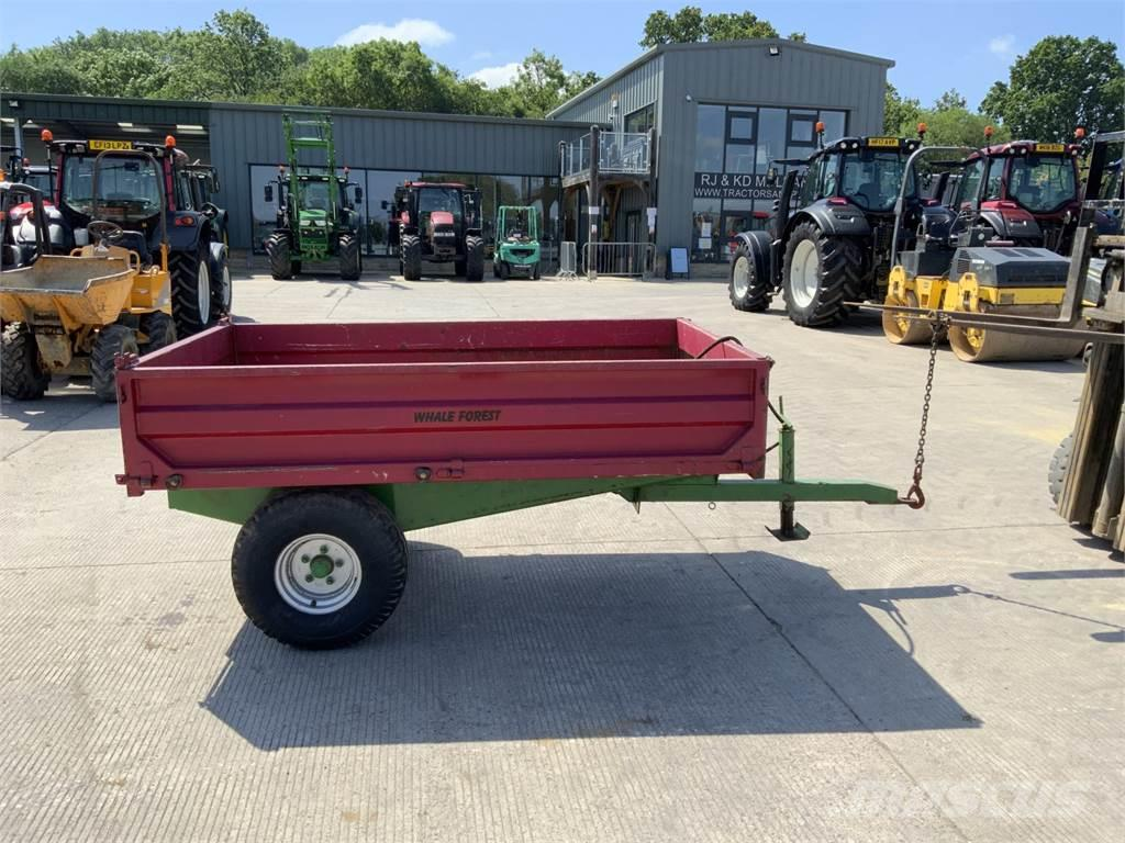 Marshall 2 Tonne Tipping Trailer