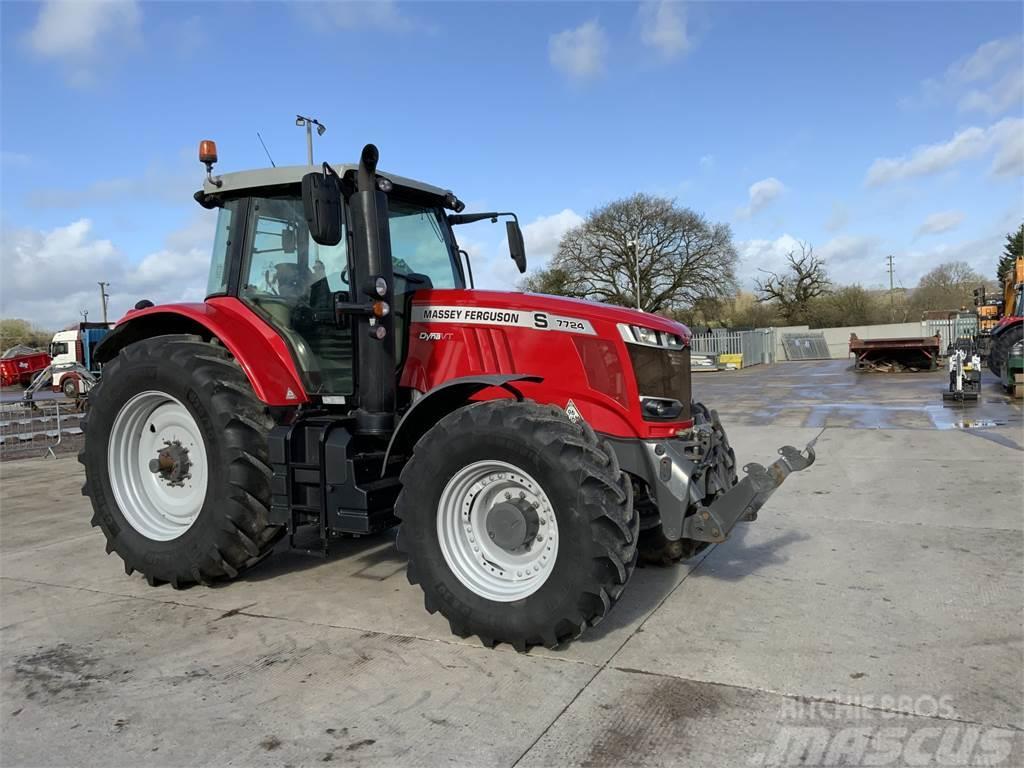 Massey Ferguson 7724S DYNA VT Tractor (ST9429)