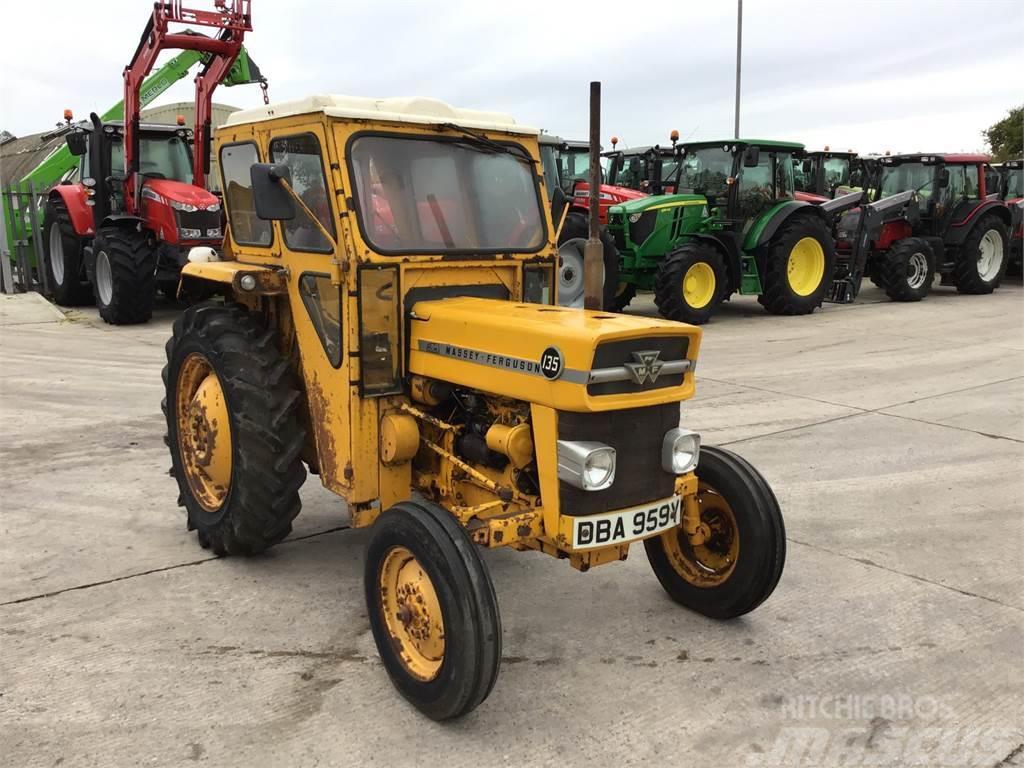 Massey Ferguson Yellow 135 Tractor