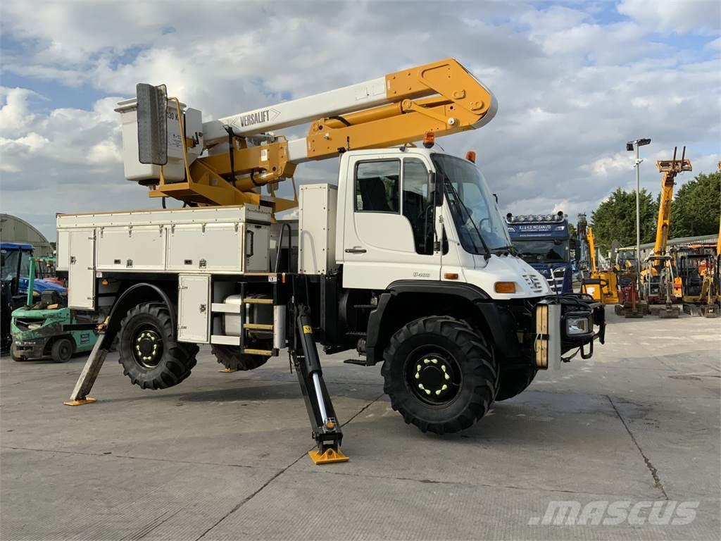 Mercedes-Benz Unimog U400 Tower Wagon (ST8161)