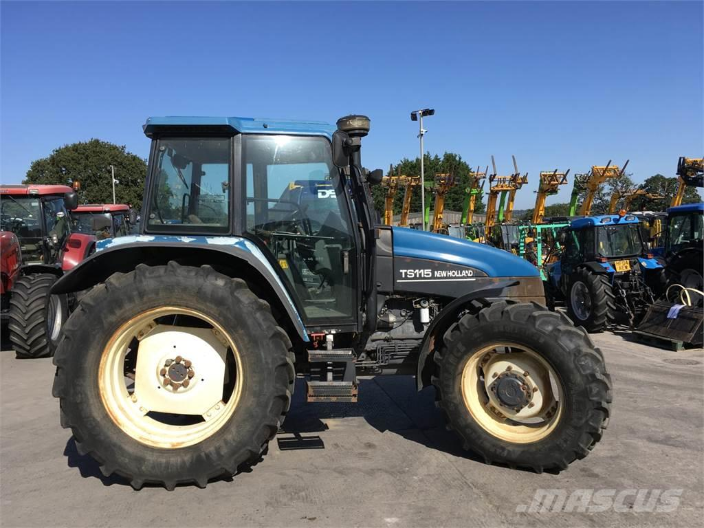 New Holland TS115 Tractor (ST4972)