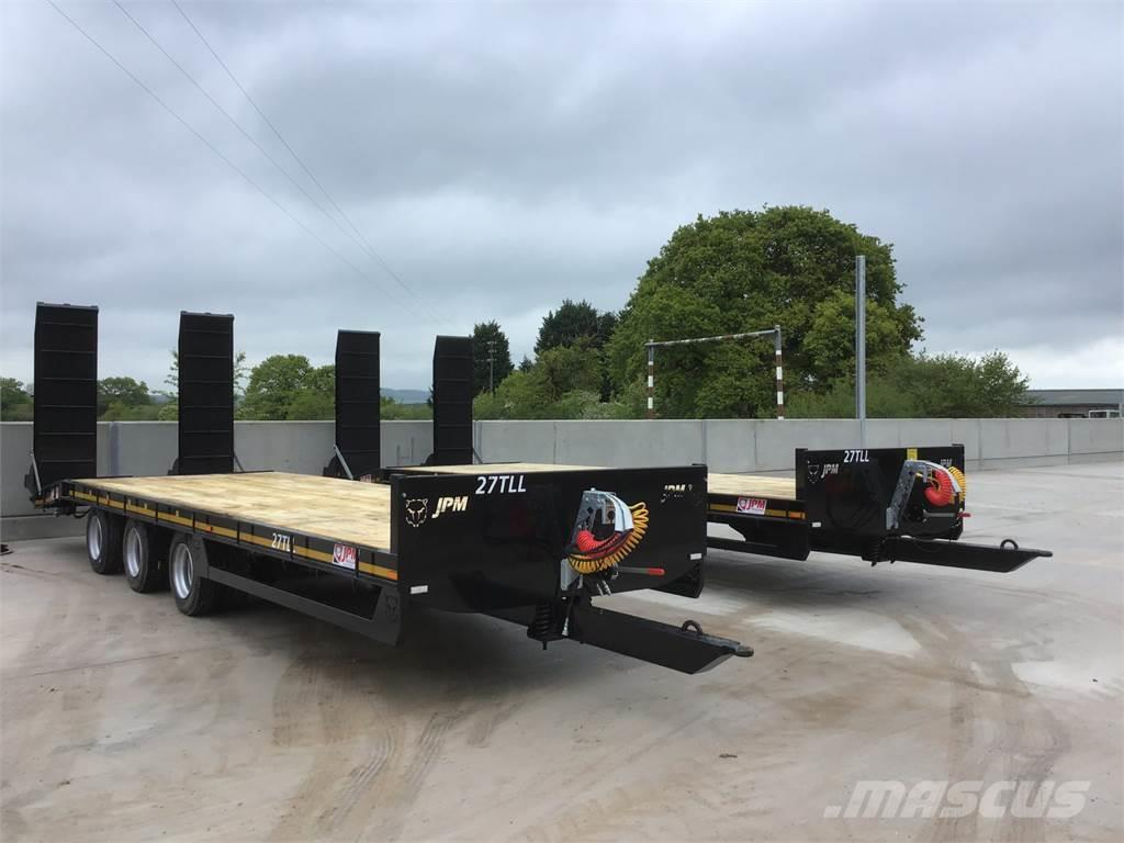 [Other] Choice Of 2 JPM 28ft Black Tri Axle Low Loaders