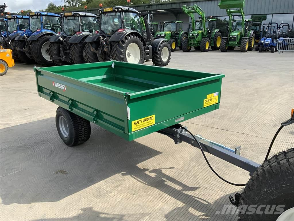 [Other] Wessex 3 Tonne *Unused* Drop Side Tipping Trailer