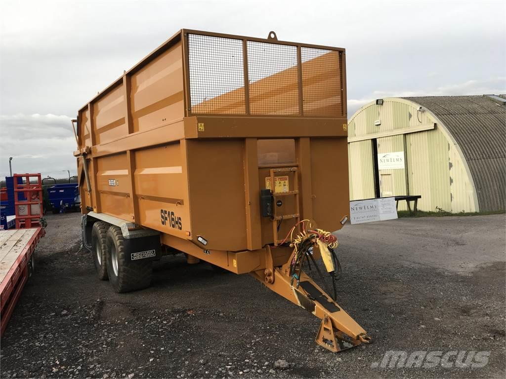 Richard Western SF16HS Silage/ Grain Trailer
