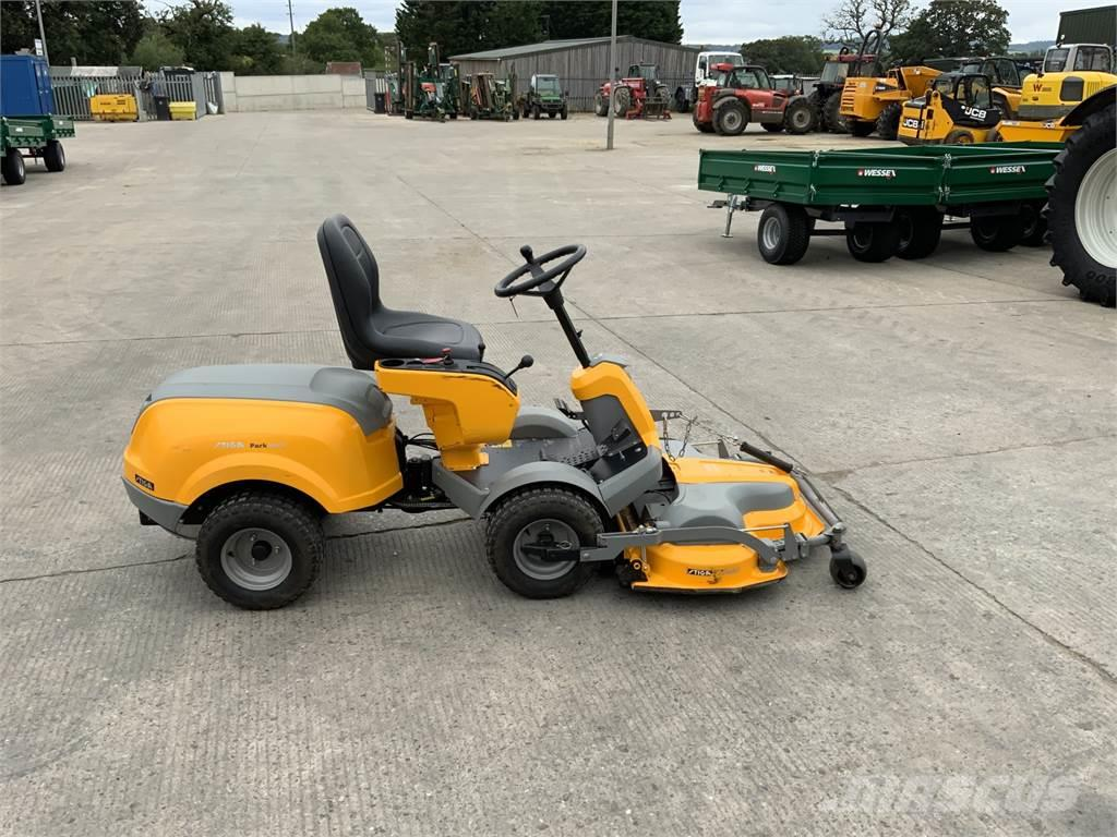 Stiga Park 620W Out Front Tied On Mower