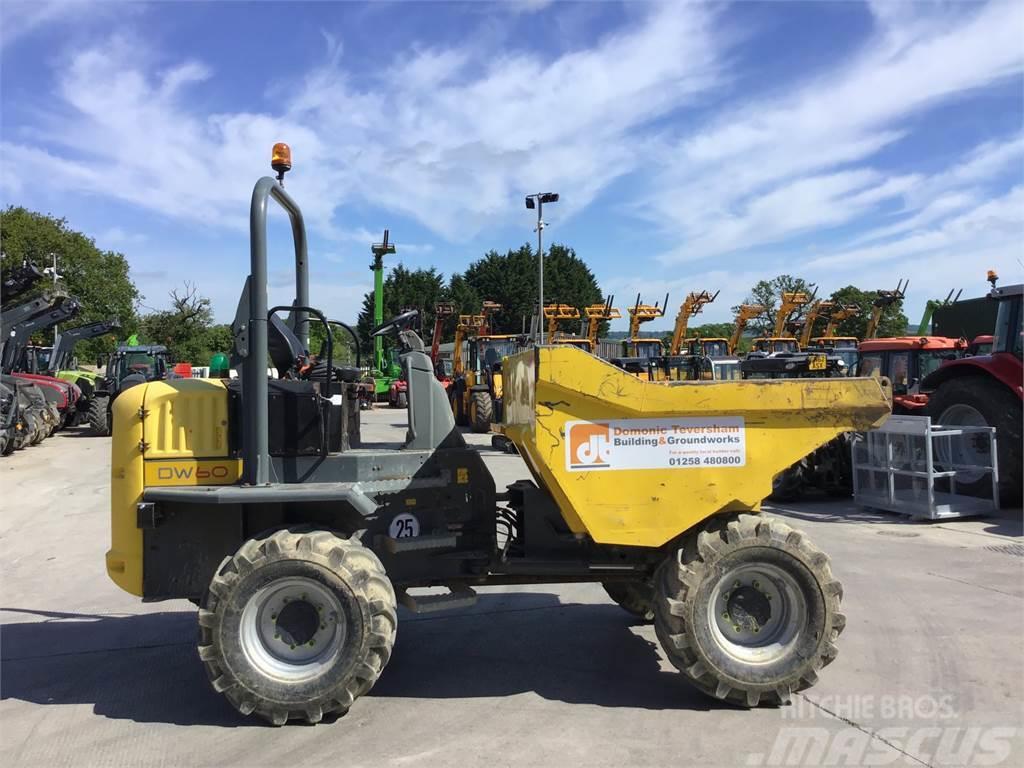 Wacker Neuson DW60 6 Tonne Straight Tip Dumper (ST5590)