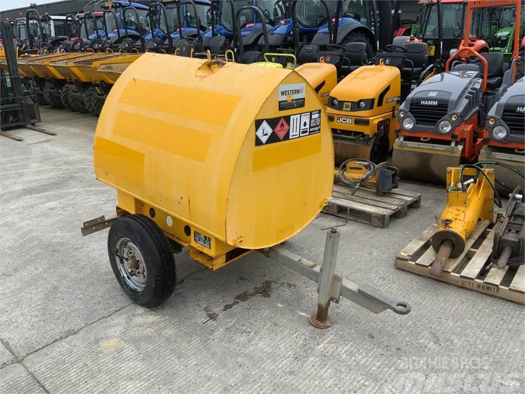 Western 950 Litre Acorn Site Tow Diesel Bowser (ST11512)