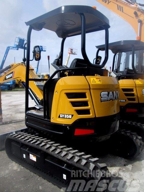 Sany SY35U Mini-Excavator
