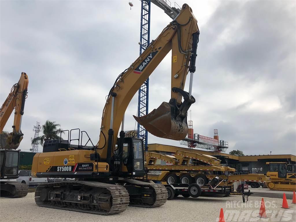 Sany SY500H Excavator