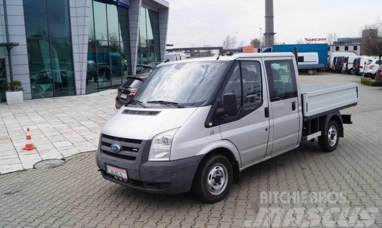 Ford Transit ,Podwójna Kabina + Skrzynia,model 2007 ,Ła