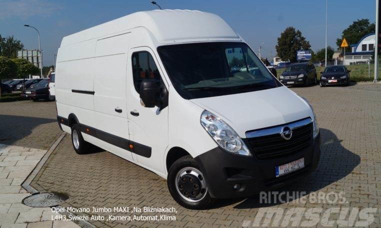 Opel Movano Jumbo MAXI ,Na Bliźniakach, L4H3,Świeże Aut
